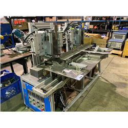 DUAL FEED ASSEMBLY LINE SMALL BOX GLUER 380V 50HZ