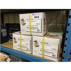 """5 50LB BOXES OF 1-1/4"""" X 12-1/2"""" GA DRYWALL NAILS"""