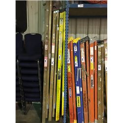 YELLOW INDUSTRIAL LITE 8' FIBERGLASS & ALUMINUM STEP LADDER