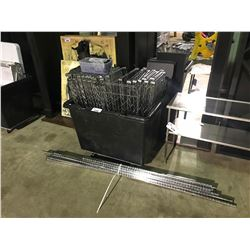 ROLLING CART & METAL RACKING