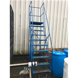 BLUE 10 FT MOBILE WAREHOUSE STAIRS