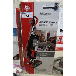DIRT DEVIL RAZOR PLUS UPRIGHT VACUUM