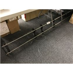 8' WALL MOUNT TV RACK