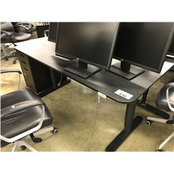 ONYX 6' ELECTRIC HEIGHT ADJUSTABLE WORK TABLE