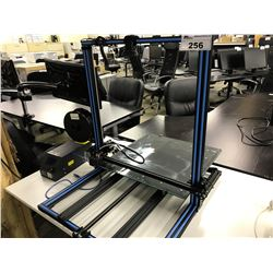 CREALITY CR-10 S5 3D PRINTER WITH WEBCAM AND 3 ROLLS OF ASSORTED FILAMENT