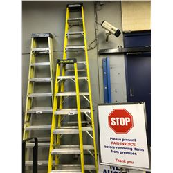 YELLOW 12' FOLDING LADDER