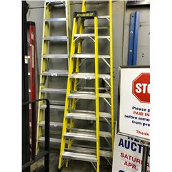 YELLOW 8' FOLDING LADDER