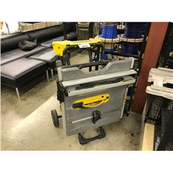 DEWALT MOBILE FOLDING TABLE SAW