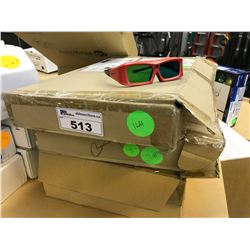 LOT OF EXPAND VISION 3D GLASSES