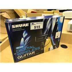 SHURE DIGITAL WIRELESS GUITAR SYSTEM