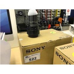 SONY UPLL-Z3007 PROJECTOR LENS