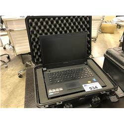 LENOVO B40 LAPTOP COMPUTER WITH HAN TRAVEL CASE (NO HARD DRIVE)