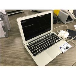 MACBOOK AIR NOTEBOOK COMPUTER