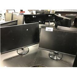 3 ASUS LCD MONITORS