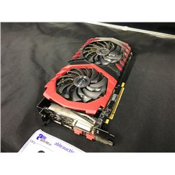 MSI RADEON RX580 GAMING X 4GB GPU