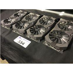 4 ASUS STRIX RX570 4GB VRAM GPU'S