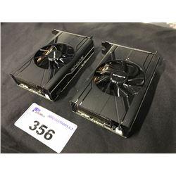 2X SAPPHIRE PULSE RX570 ITX 4GB DDR5 GPUS