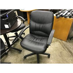 BLACK MID BACK TILTER CHAIR