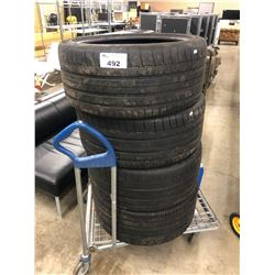 SET OF 4 MICHELIN LATITUDE TIRES, 295/35 R 21 107Y EXTRA LOAD