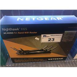 NETGEAR NIGHTHAWK X6S AC4000 TRI BAND WIFI ROUTER