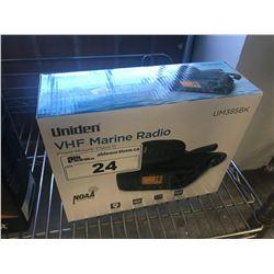 UNIDEN VHF MARINE RADIO MODEL UM385BK