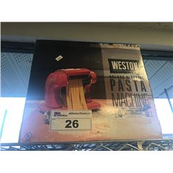 WESTON DELUXE PASTA MACHINE