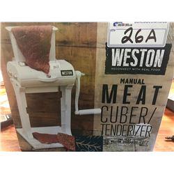 WESTON MANUAL MEAT CUBER / TENDERIZER