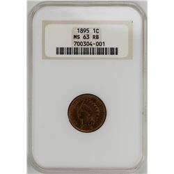 1895 Indian Head Cent Coin NGC MS63RB