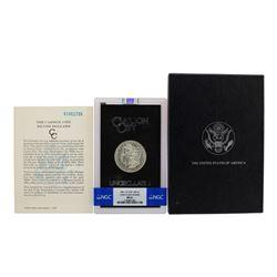 1891-CC $1 Morgan Silver Dollar Coin GSA Hoard NGC MS61 VAM-3 Top-100 w/ Box & COA