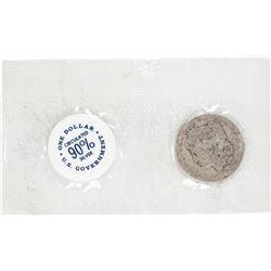 1882 $1 Morgan Silver Dollar GSA Soft Pack
