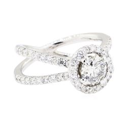 18KT White Gold 1.60 ctw Diamond Ring