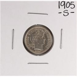 1905-S Barber Dime Coin