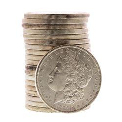 Roll of (20) Brilliant Uncirculated 1890 $1 Morgan Silver Dollar Coins