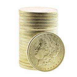 Roll of (20) Brilliant Uncirculated 1896 $1 Morgan Silver Dollar Coins