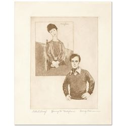 Homage to Modigliani by Crionas (1925-2004)
