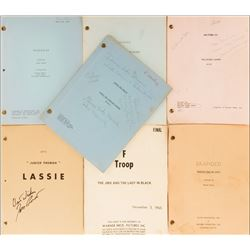 Television series of the 1960s (7) shooting scripts.