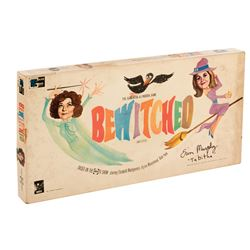 Bewitched board game signed by Erin Murphy 'Tabitha Stephens'.