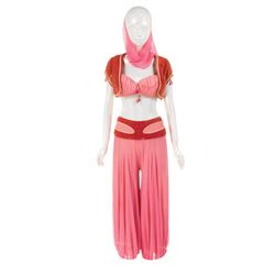 Barbara Eden 'Jeannie' signature pink harem costume from I Dream of Jeannie.