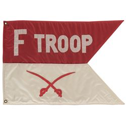 'Fort Courage' flag from F-Troop.