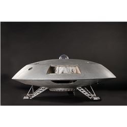 Hero 'Jupiter 2' spaceship filming miniature from Lost in Space.