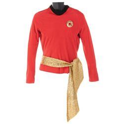 George Takei 'Alternate Universe Sulu' tunic from the Star Trek: The Original Series Season 2.