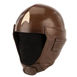 'Security Guard' helmet with chinstrap from Star Trek: The Motion Picture.