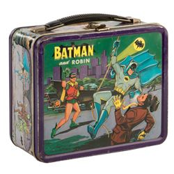 Batman and Robin lunch box.