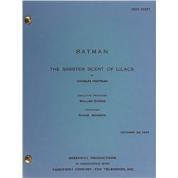 Batman television series (14) season-three shooting scripts.
