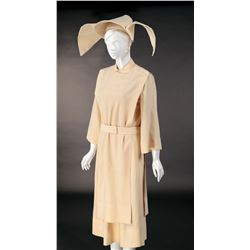 Sally Field 'Sister Bertrille' signature nun's habit and coronet from The Flying Nun.