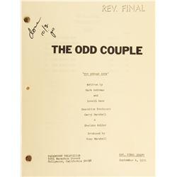 The Odd Couple (30+) episode shooting scripts.