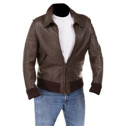 "Henry Winkler ""Arthur 'Fonzie' Fonzarelli"" signature leather jacket from Happy Days."