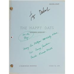 Happy Days and Laverne and Shirley (20+) Revised and Final Draft scripts.