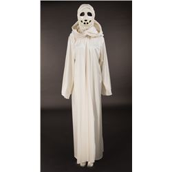 Carousel women's ceremonial robe and mask from Logan's Run.