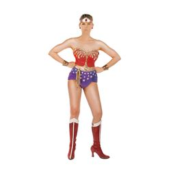 "Lynda Carter ""Wonder Woman"" signature superhero ensemble from Wonder Woman."
